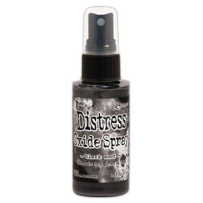 Ranger Distress Oxide Spray - Black Soot TSO67566