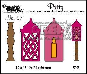 Crealies Partz 37 - Lantaarn