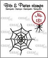 Crealies Bits & Pieces 181 - Spin en web