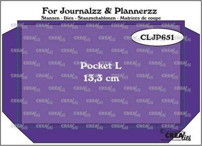 Crealies Journalzz & Plannerzz - Pocket L
