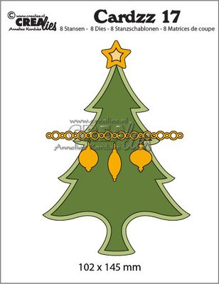 Crealies Cardzz 17 Kerstboom