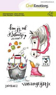 CraftEmotions Clearstamp A6 - Sinterklaas 2