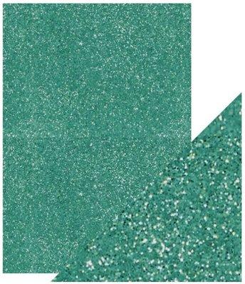 Tonic Studios Glitter Card - Turquoise Lake 9954E