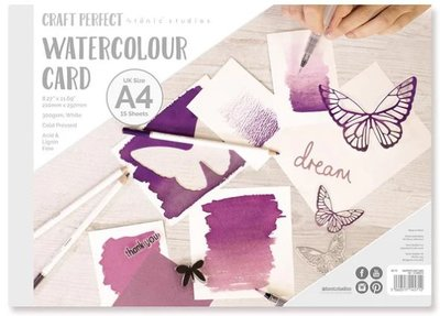 Tonic Studios Craft Perfect - Watercolor Pad A4 9571E