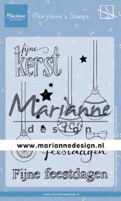 Marianne Design Stempel - Marjoleine's Kerstballen MZ1906