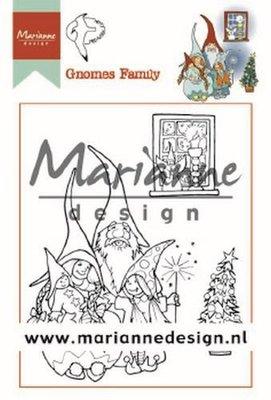 Marianne Design Stempel - Hetty's Gnome Family HT1650