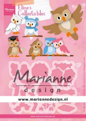 Marianne Design Collectable - Eline's Owl COL1475