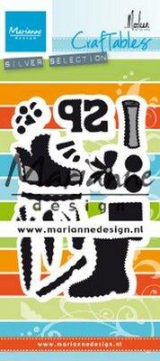 Marianne Design Craftable - Schoentje Zetten by Marleen CR1489