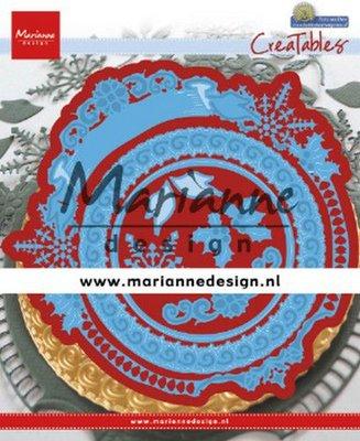 Marianne Design Creatable - Petra's Winter Circle LR0627