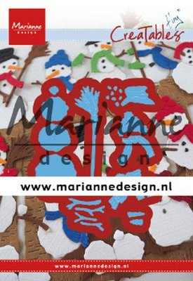 Marianne Design Creatable - Tiny's Frosty Snowmen LR0631