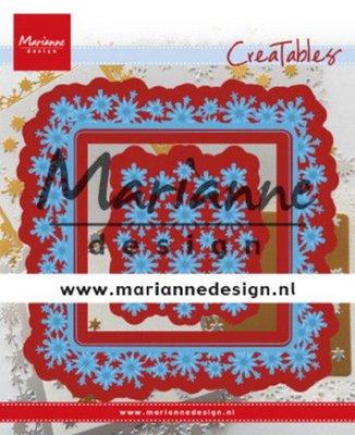 Marianne Design Creatable - Snowflakes Square LR0633