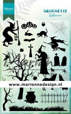 Marianne Design Stempel - Silhouette Halloween CS1039