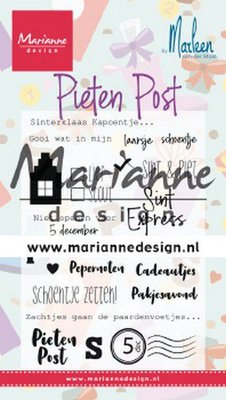 Marianne Design Stempel - Pietenpost by Marleen CS1042