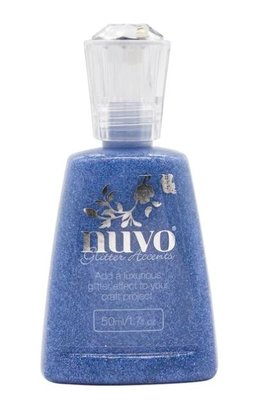 Nuvo Glitter Accents - Ballroom Blue 938N