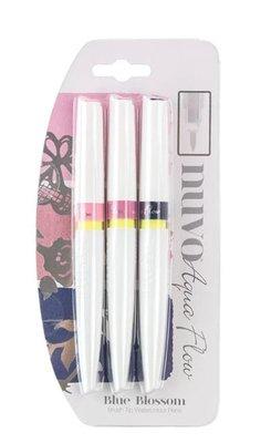 Nuvo Aqua Flow Pens - Blue Blossom 870N