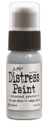 Ranger Distress Paint - Brushed Pewter TDD36326