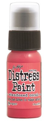 Ranger Distress Paint - Abandoned Coral TDD43546