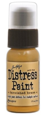 Ranger Distress Paint - Tarnished Brass TDD36487
