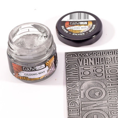 Coosa Crafts Gilding Wax - Zilver COC-001