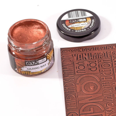 Coosa Crafts Gilding Wax - Koper COC-002