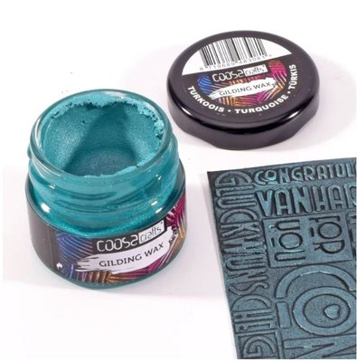 Coosa Crafts Gilding Wax - Metallic Turquoise COC-009