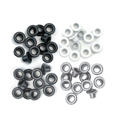 We R Memory Keepers Eyelets - Grey