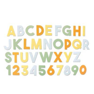Sizzix Bigz XL Die - Chunky Alphabet 664385