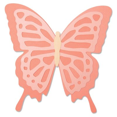 Sizzix Bigz Die - Layered Butterfly 664387