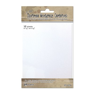 Distress Woodgrain Cardstock TDA51022