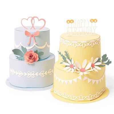 Sizzix Thinlits Die - Cake Pop-Up 664356