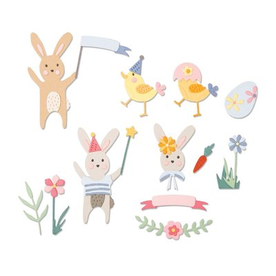 Sizzix Thinlits Die - Easter Celebration 664357
