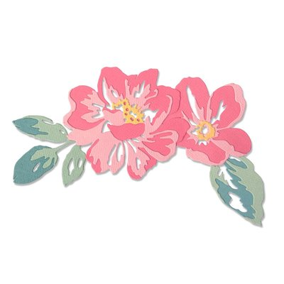 Sizzix Thinlits Die - Floral Layers 664359