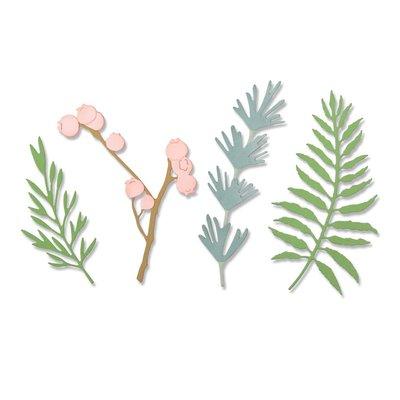Sizzix Thinlits Die - Natural Leaves 664361