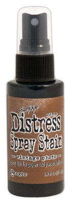 Ranger Distress Spray Stain - Vintage Photo TSS42594