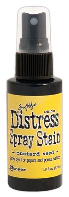 Ranger Distress Spray Stain - Mustard Seed TSS42358