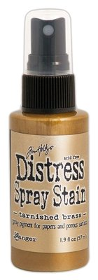 Ranger Distress Spray Stain - Tarnished Brass TSS42549