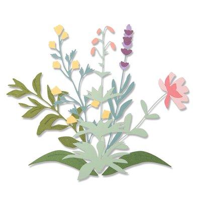 Sizzix Thinlits Die - Spring Stems 664381