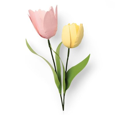 Sizzix Thinlits Die - Tulip 664390