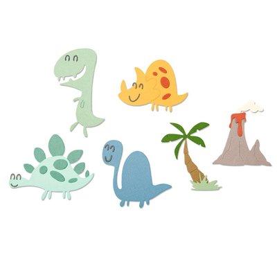 Sizzix Thinlits Die - Dinosaurs 664393