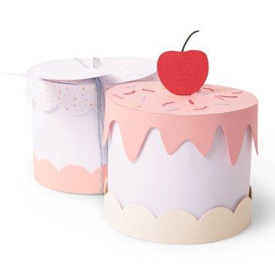 Sizzix Thinlits Plus Die - Cake Box 664400