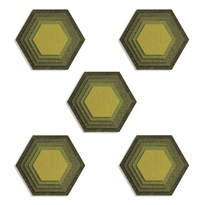 Sizzix Thinlits Die - Stacked Tiles Hexagons 664420