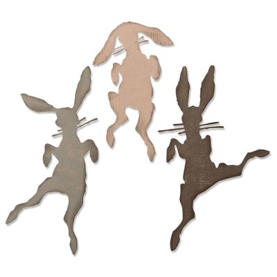 Sizzix Thinlits Die - Bunny Hop 664421