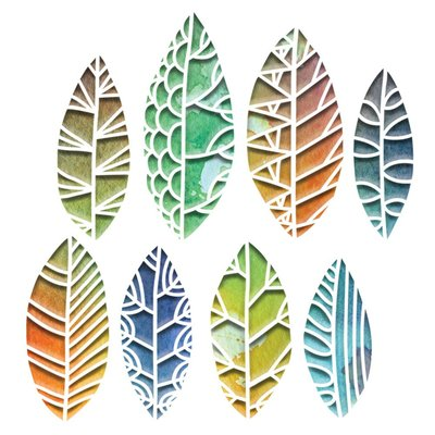 Sizzix Thinlits Die - Cut Out Leaves 664431