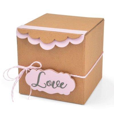 Sizzix ScoreBoards XL - Box, Gift w/Scallop Edges 664345
