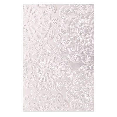 Sizzix 3-D Textured Impressions Embossing Folder - Doily 662265 (pre-order)