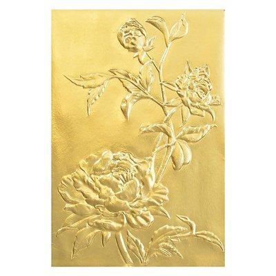 Sizzix 3-D Texture Fades Embossing Folder - Roses 664189