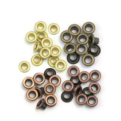 We R Memory Keepers Eyelets - Warm Metal