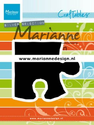 Marianne Design Craftable - Puzzle Piece CR1491