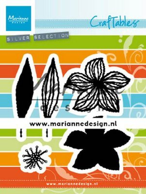Marianne Design Craftable - Open Flower CR1493