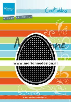 Marianne Design Craftable - Cross Stitch Easter Egg CR1497